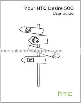 HTC Desire 500 Manual