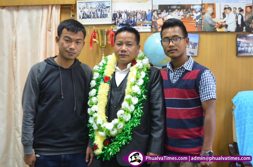 Langkhanpau Guite in ADC Chairman len nawn
