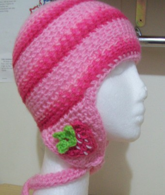 Crochet Patterns Hat With Ear Flaps : Cats-Rockin-Crochet, Free Crochet and Knit Patterns ...