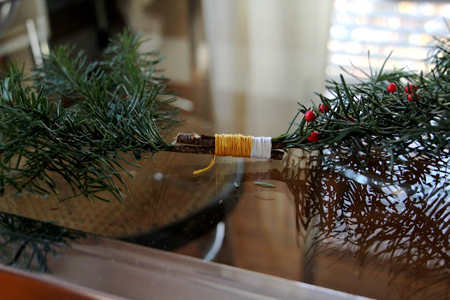 DIY Holiday Branch
