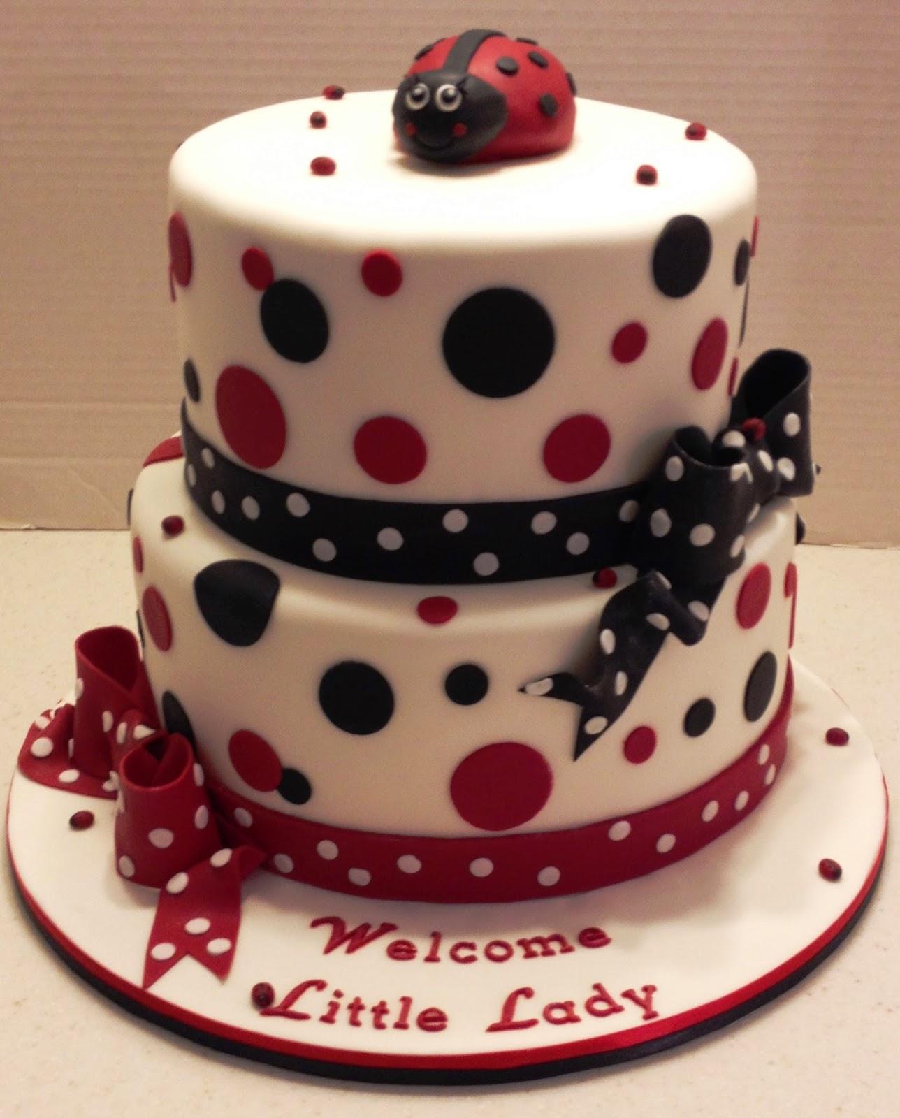 Marymel Cakes Lady Bug Baby Shower