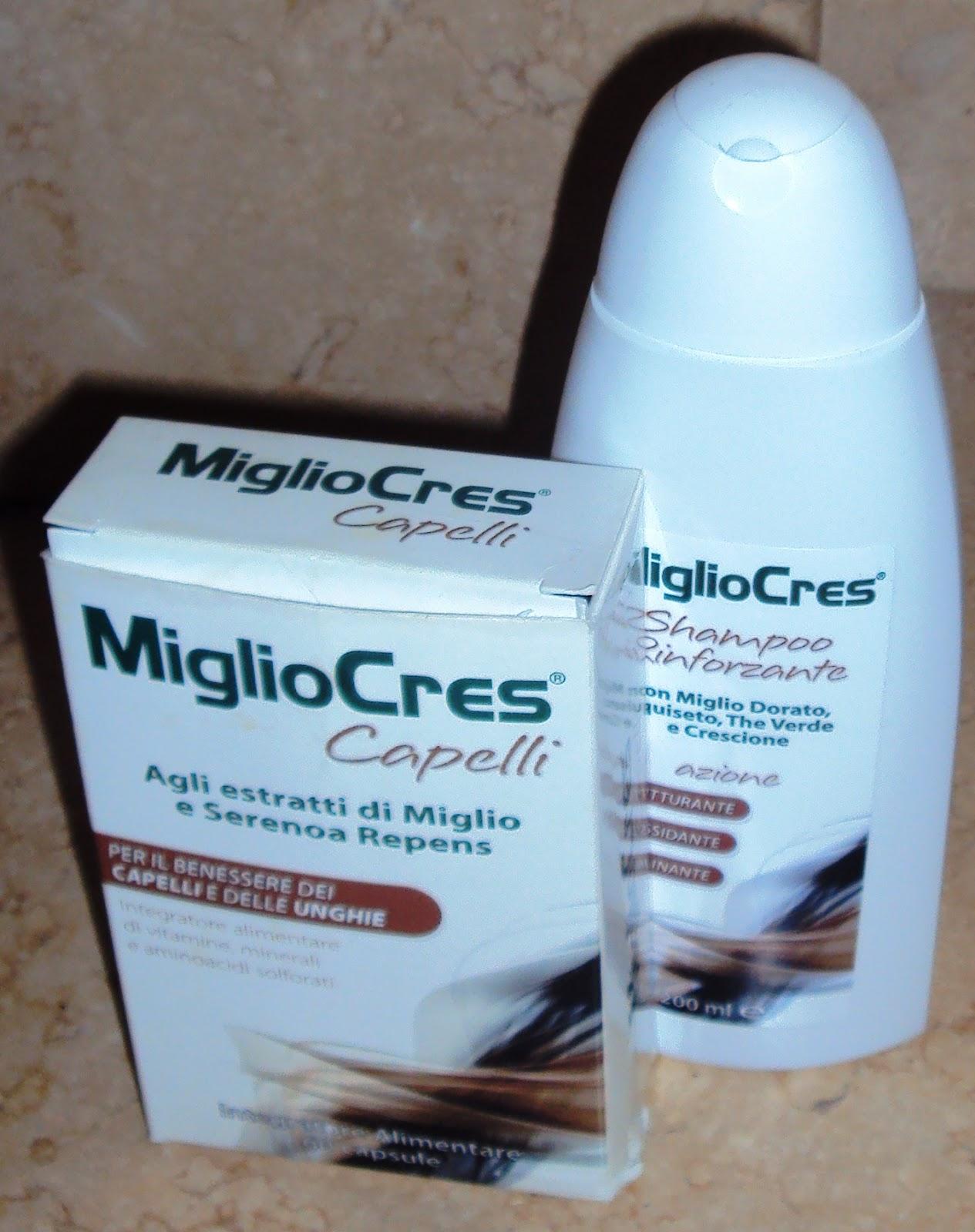 Souvent pinupmarylin: Recensione MiglioCres : integratore e shampoo per  GX98