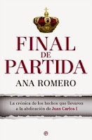Ranking Semanal: Número 2. Final de partida, de Ana Romero.