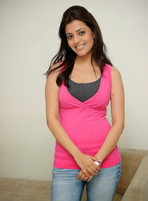 Nisha Agarwal In Pink Top