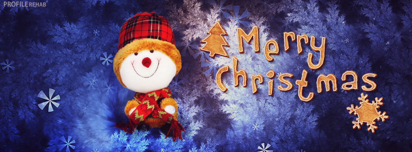Christmas Snowman Teddy Cover Photo