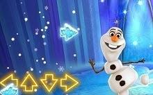 Juego de Frozen, Olaf baila al ritmo de la musica