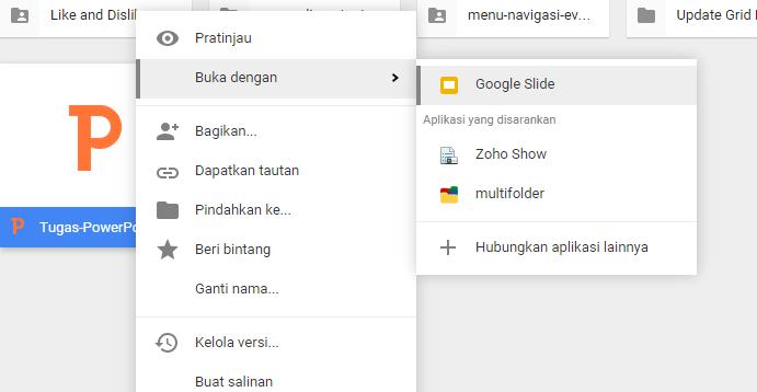 Cara Memasang Google Side di Blog dengan Google SLide