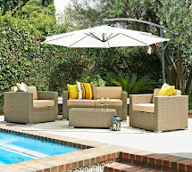 Outdoor Patio Furniture with Umbrella