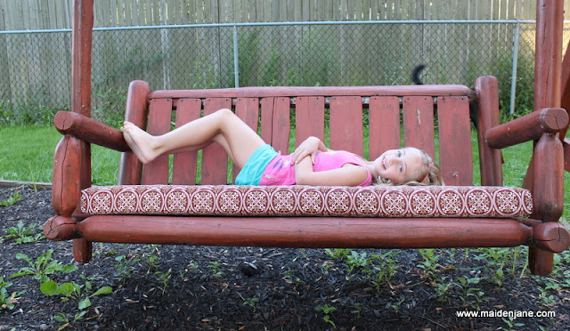 The Waning Days of Summer – and a Swing Seat Cushion