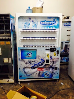 perniagaan mesin air tin