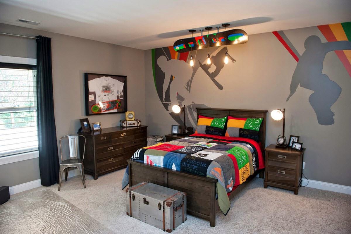 interior kamar tidur gaul | interior rumah