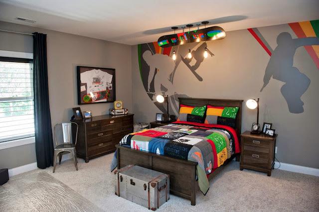 Ruang Tidur Remaja Cowok