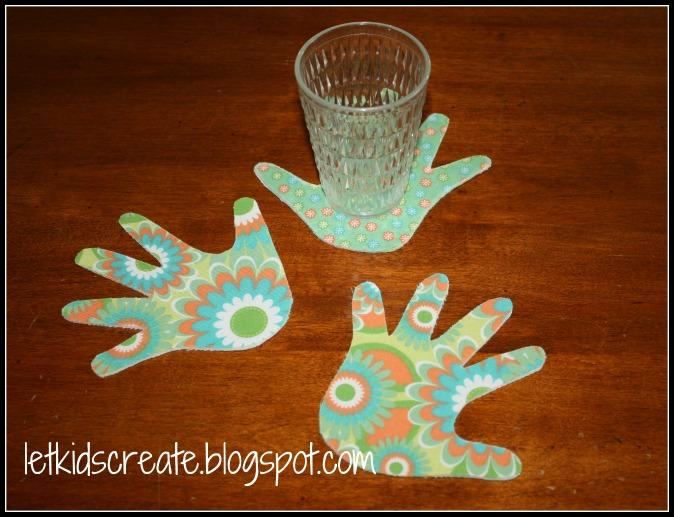 Let Kids Create Handy Handmade Coasters