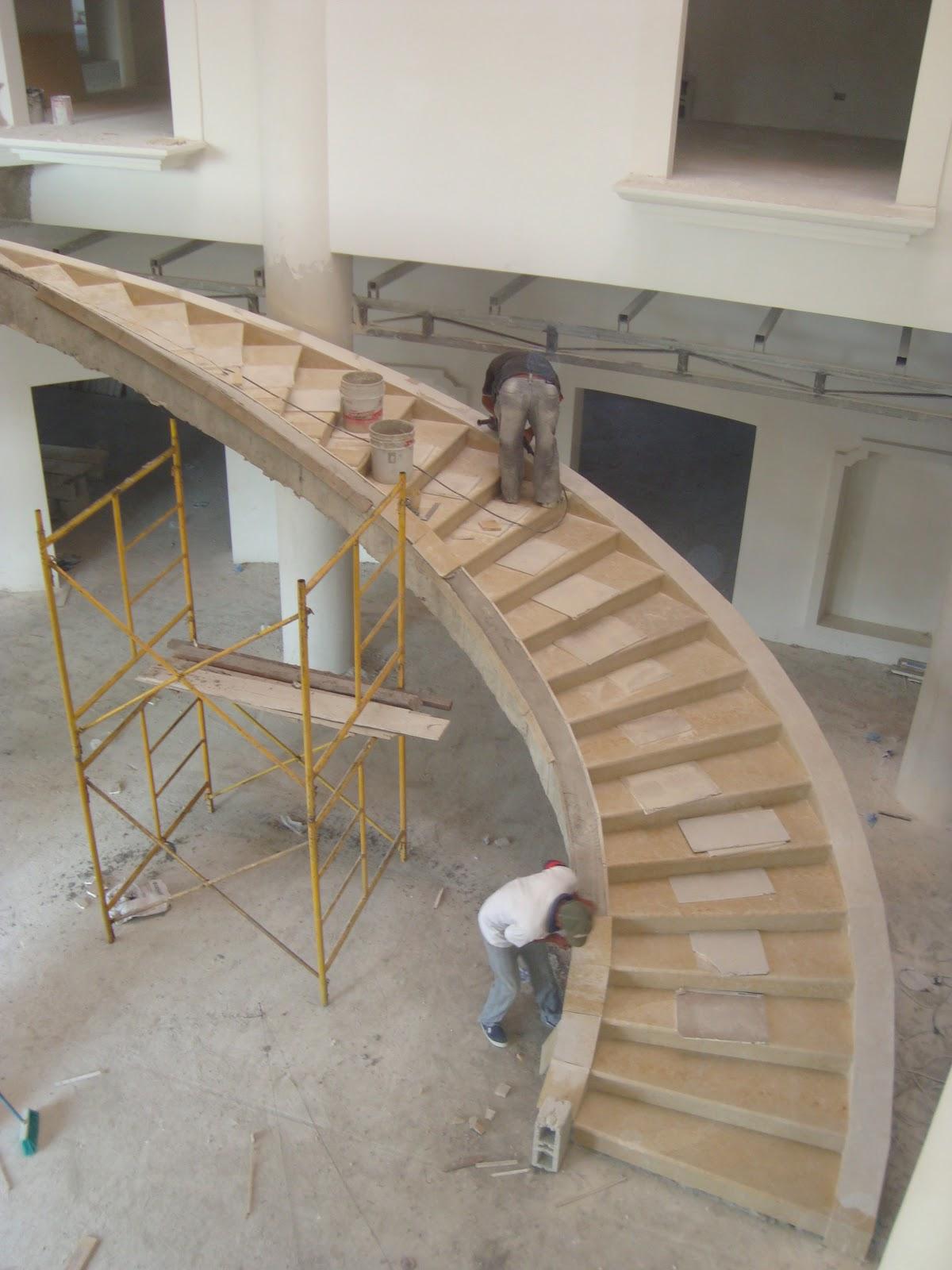 Roman de la rosa romero escaleras de marmol en diferentes - Marmol para escaleras ...