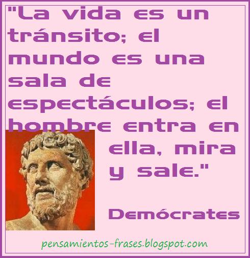 frases de Demócrates