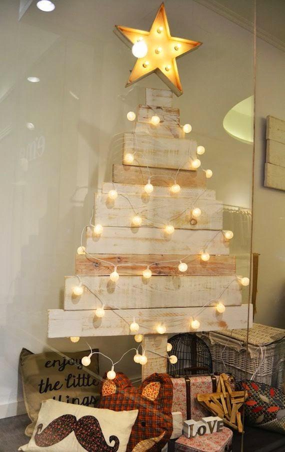 originales diseos para hacer un rbol de navidad con palets