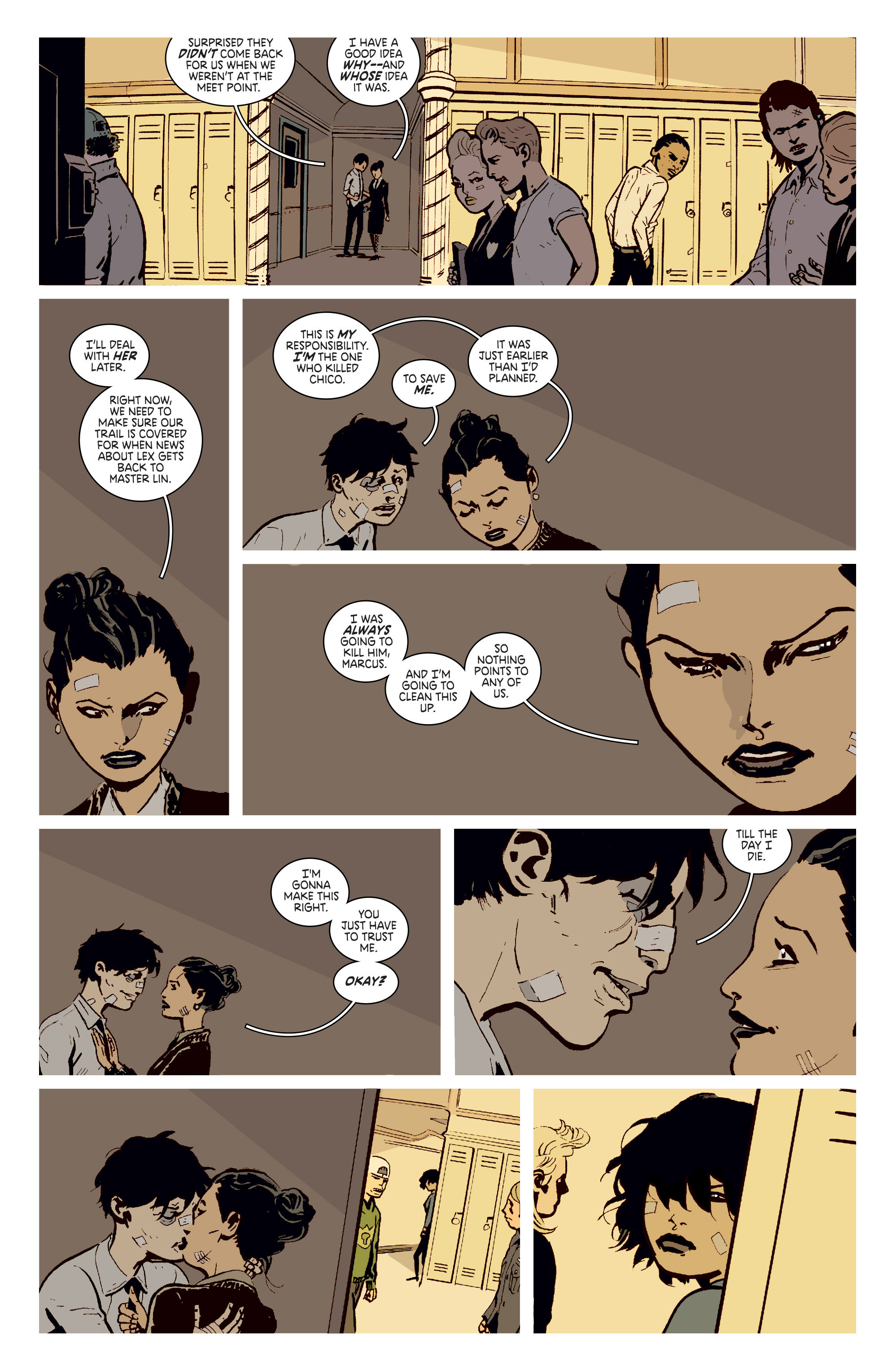 Read online Deadly Class comic -  Issue # _TPB 3 - 45