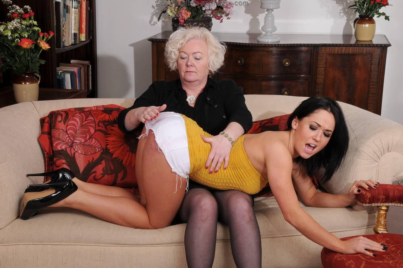 Bad tushy spanking