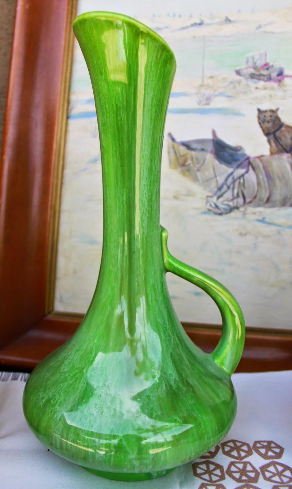 Royal Haegar Green Vase