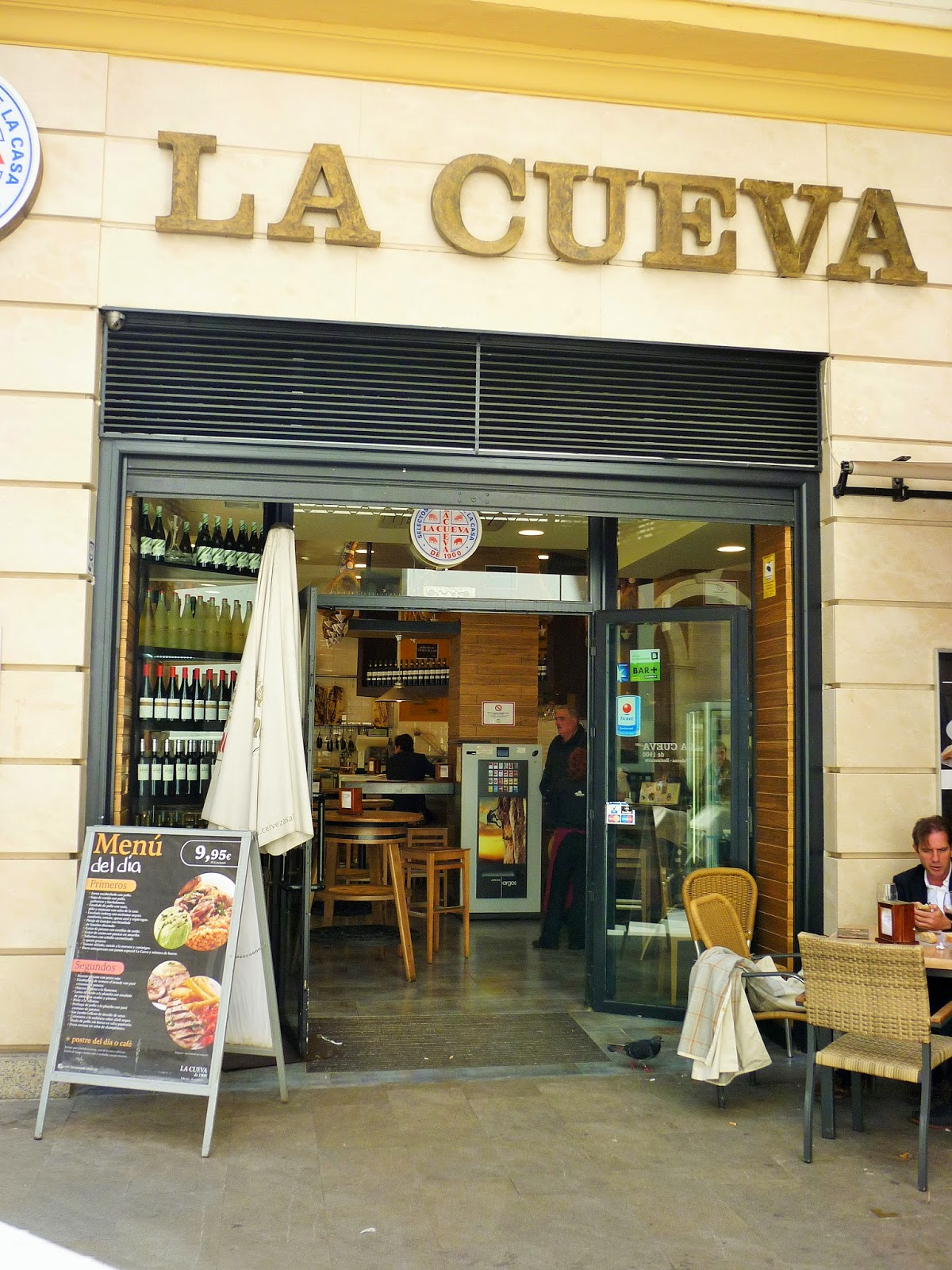 Restaurant - tapas - La Cueva de 1900 - Malaga - Espagne