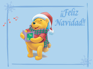 Feliz Navidad Winnie Pooh