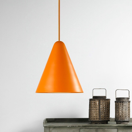 The NX506 Jive Pendant - Stylish orange Nordlux 75403027 suspension lamp