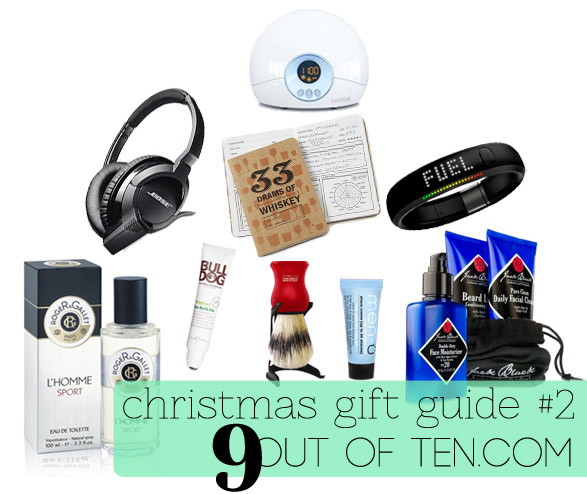 Christmas Gift Guide #2 - Dad | 9 out of ten | Beauty & Lifestyle Blog