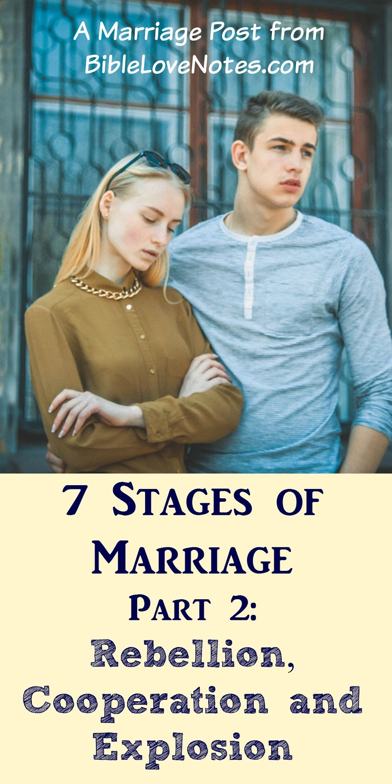 Christian dating stage 1
