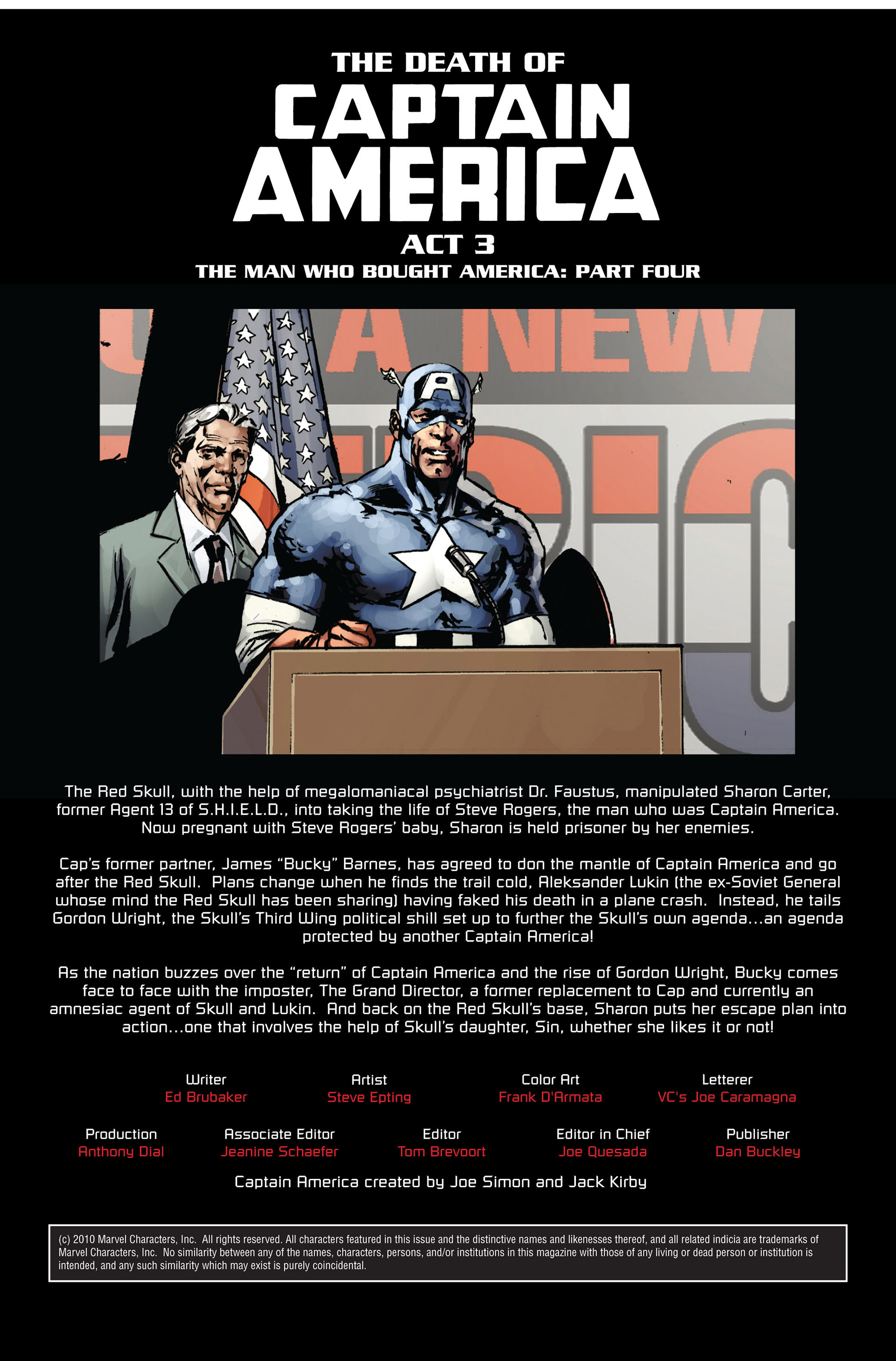 Captain America (2005) Issue #40 #40 - English 2