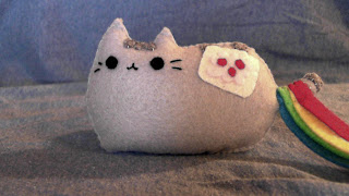 How to Make a Pusheen Nyan Cat plushie tutorial