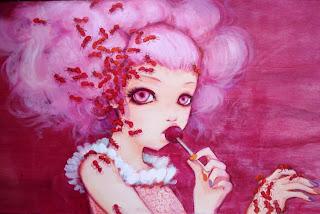 Cotton Candy Curly Cue por Camilla d'Errico.