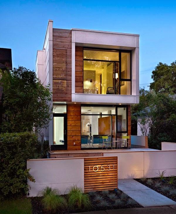 Casas Minimalistas y Modernas Fachadas Minimalistas