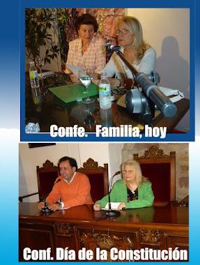 Conferencias en Villa del Río