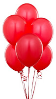 "Red Matte 11"" Balloons"
