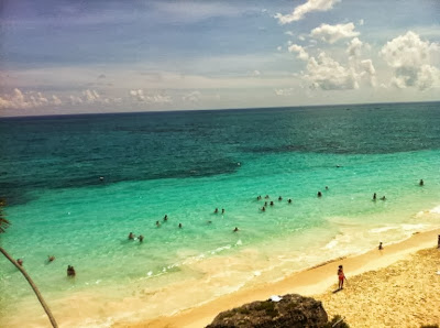 Tulum beach view