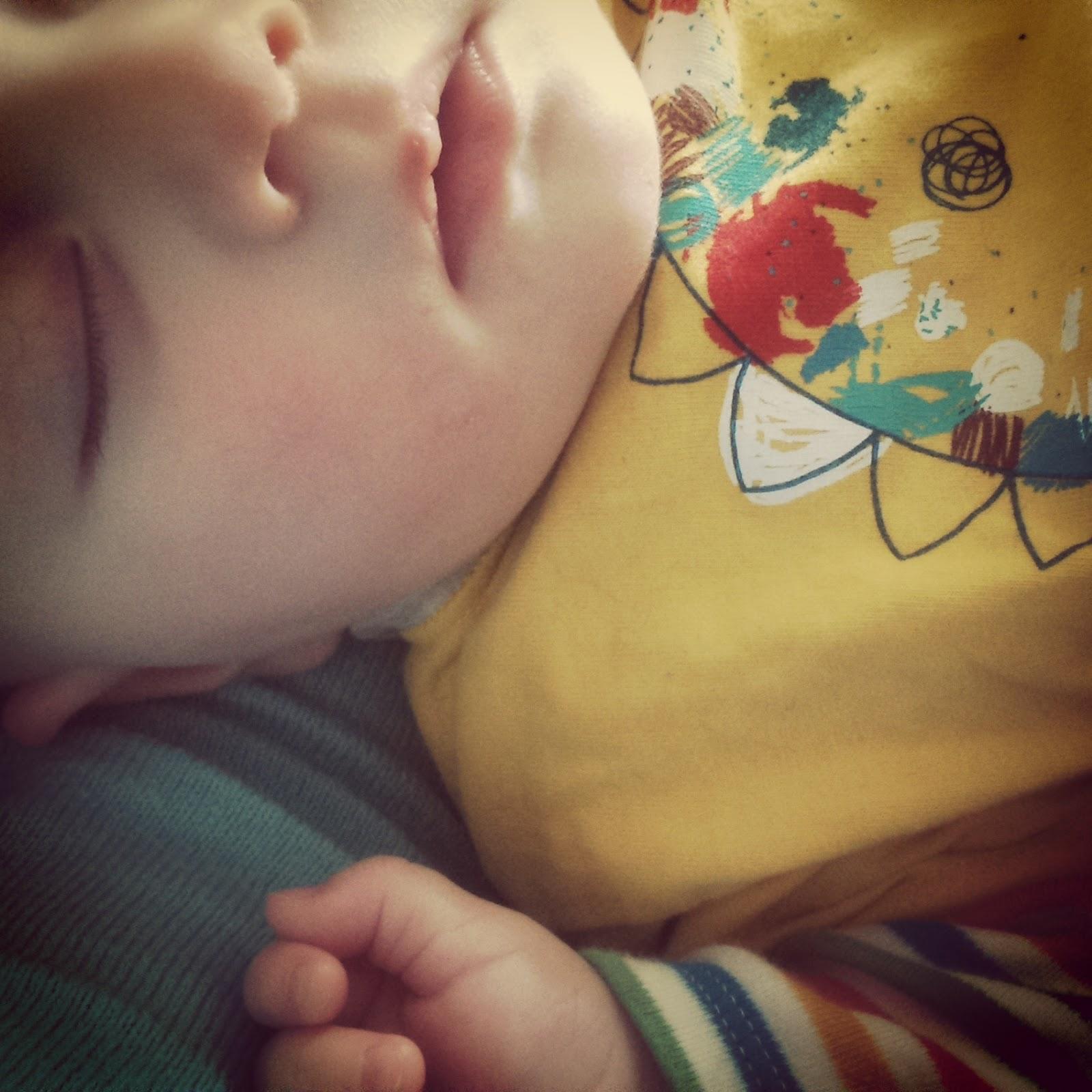 Matilda sleeping