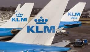 Wij vliegen met KLM.