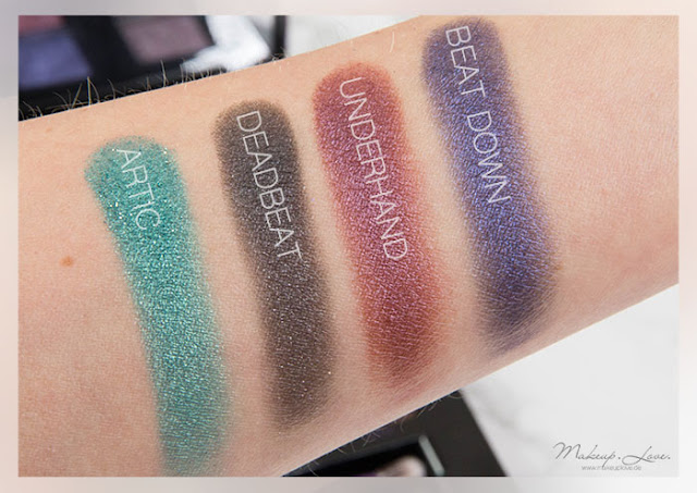 urban decay vice 4 swatches