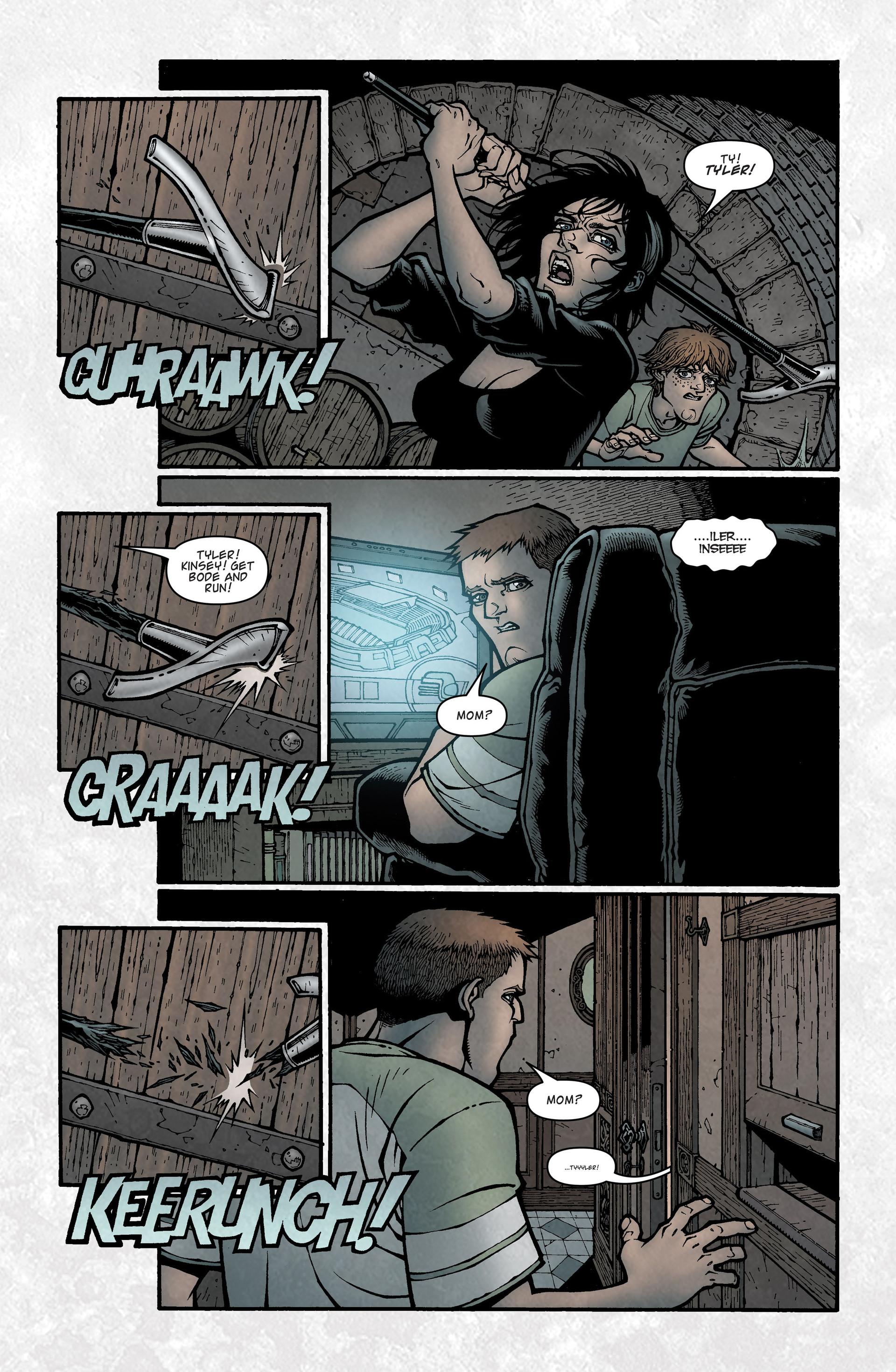 Locke & Key (2008) Issue #5 #5 - English 21