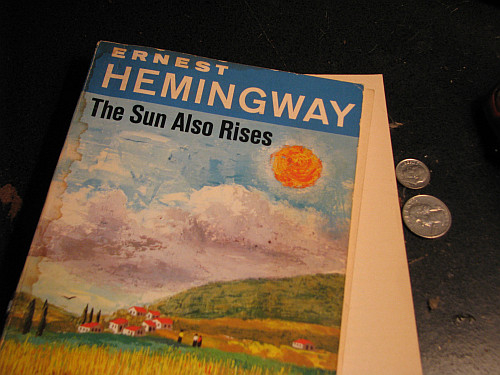 a review of ernest hemingways the sun also rises Buy a cheap copy of the sun also rises book by ernest hemingway the sun also rises first appeared in 1926, and yet it's as fresh and clean and fine as it ever was, maybe finer write a review the lost generation found.