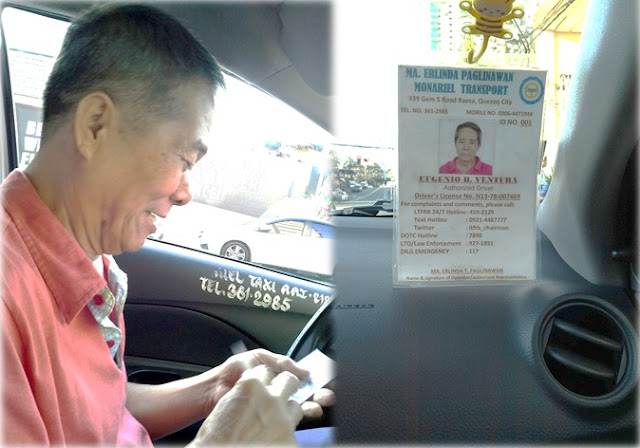 Mang Eugenio's story will restore your faith in Pinoy taxi drivers.