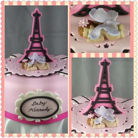 cakes by gleibis paris baby shower
