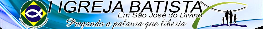 I Igreja Batista em São Jose do Divino