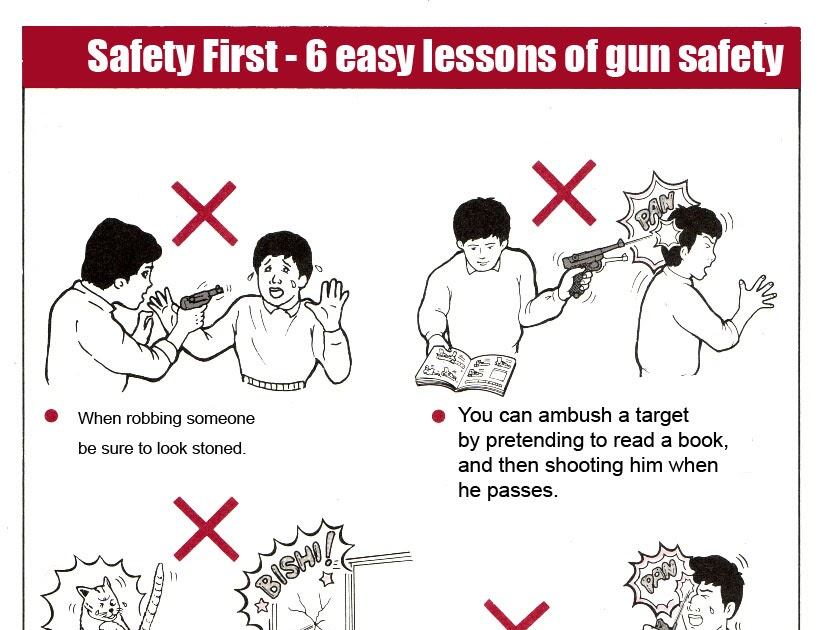 Diagram This  Gun Safety