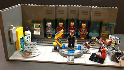 lego tony stark mansion instructions