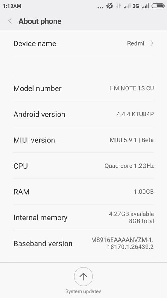 [ROM] MIUI 7 Redmi Note Dual SIM 4G a.k.a Gucci