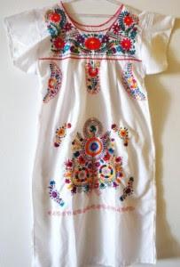 imagens de modelos de vestidos mexicanos