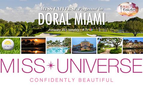 Arribo de las candidatas a Doral - Miss Universe 2014
