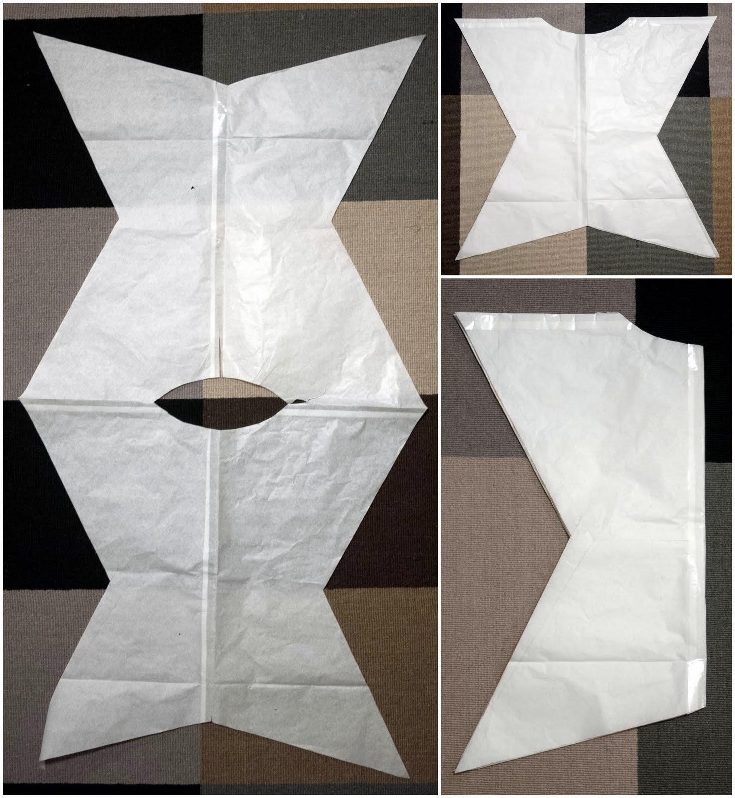 Patrón de disfraz de estrella