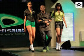 Glees Models on Runway